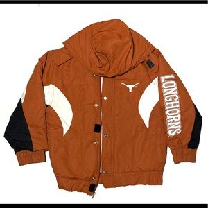 Boys Texas Longhorns coat